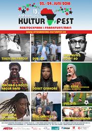 13. Afrikanisches Kulturfest Rebstockpark 2018