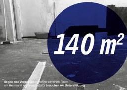 140 qm gegen das Vergessen: Eröffnung und Spendenkampagne