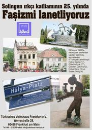26. Mai - Hülya-Tag: Frankfurt gegen Rassismus