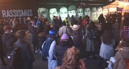 AgR RheinMain - Rückblick auf den Jahrestag des rassistischen Anschlags in Hanau