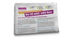 AgR-Rückblick: Verteilaktion von etwa 12.000 AgR-Wahlkampfzeitungen