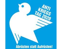Bündnis demonstriert am 1.9. für Abrüstung  und friedliche Konfliktlösung