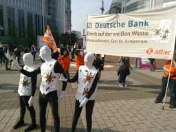 Deutsche Bank: Zukunft nur mit weißer Weste!