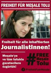 Freiheit für Meşale Tolu!