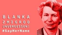 Gedenktafel für Blanka Zmigrod