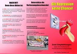 """Gib Repression keine Chance!"""