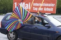 Größte 1. Mai Demonstration in Hessen erfolgreich durchgeführt