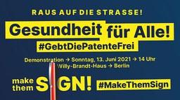 Make them sign - Jetzt Patentfreigabe durchsetzen!