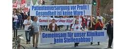 Petition: Uniklinik Gießen Marburg wieder ans Land!