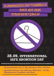 Schwangerschaftsabbruch raus aus dem Strafgesetzbuch