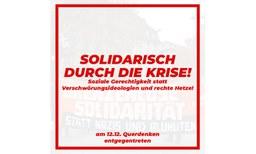 Solidarisch durch die Krise