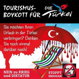 Türkei-Tourismus finanziert den Krieg in Kurdistan