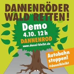 Über 5.000 demonstrieren am Dannenröder Wald für klimagerechte Verkehrspolitik