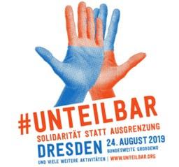 #unteilbar Sachsen #Für eine offene und freie Gesellschaft – Solidarität statt Ausgrenzung!