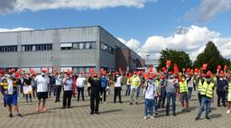 Werkschließung der Continental Automotive GmbH in Karben